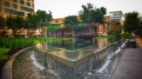 Fountains in Front of Ruggles