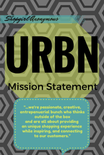 Urban Outfitters Mission Statement