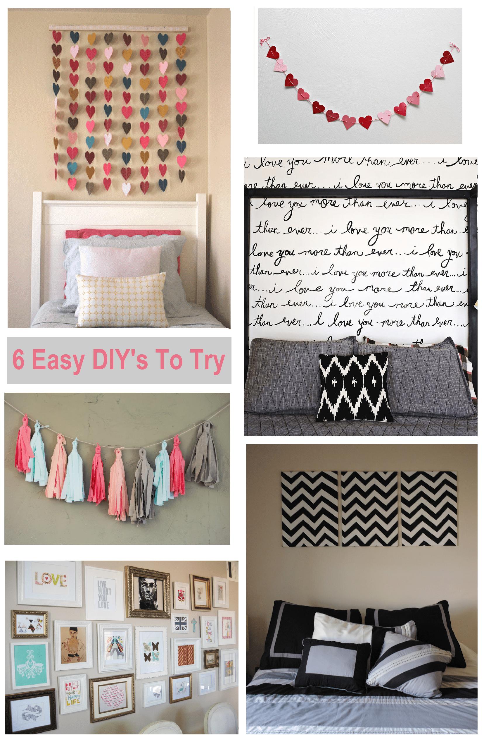6 Diy Bedroom Wall Art Ideas