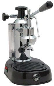 La Pavoni Lever Style Espresso Machine, Black Base