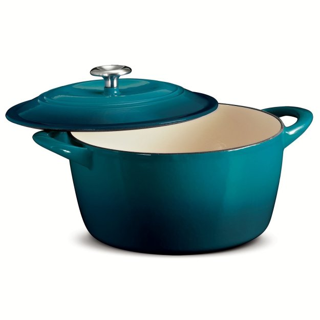 Envision this beautiful Teal Dutch oven in your kitchen today!