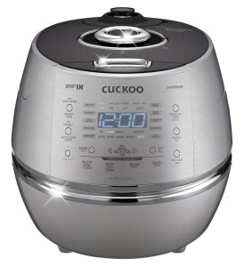 Cuckoo Stainless steel CRP-DHSR0609F 120 V IH Pressure Rice Cooker