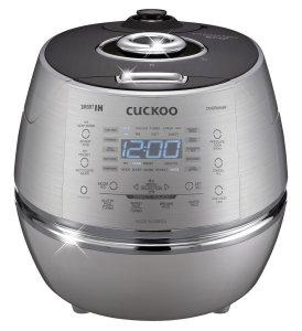 Cuckoo Stainless steel CRP-DHSR0609F 120 V IH Pressure Rice Cooker