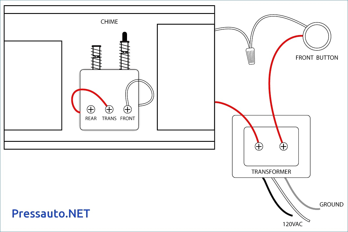 wiring diagram for house chimes