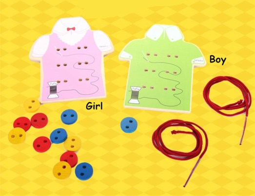 Montessori-Baby-Toys-2-Kinds-Wear-The-Button-Wooden-Toys-Educational-Threading-Bord-Beaded-Blocks-Child