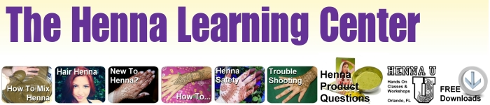 The free henna learning center