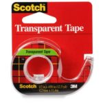 Scotch red plaid transparent tape for henna cones