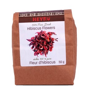 Hibiscus Flowers 150g H102