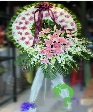 hoa chia buồn hcb 27