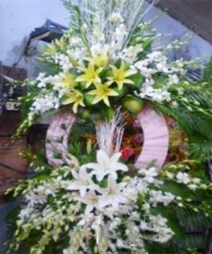 hoa chia buồn hcb 42