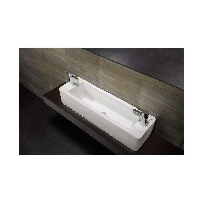 Lavabo Unisan Sobre encimera Note 100x30 cm