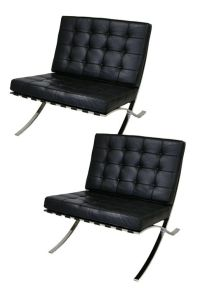 Barcelona Style Lounge Chair By Mobital * 2 Available ...