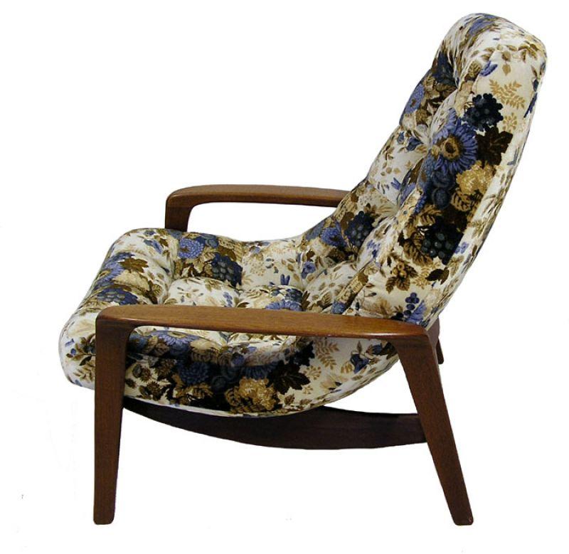 196070s Teak Lounge Chair R Huber  Hoopers Modern