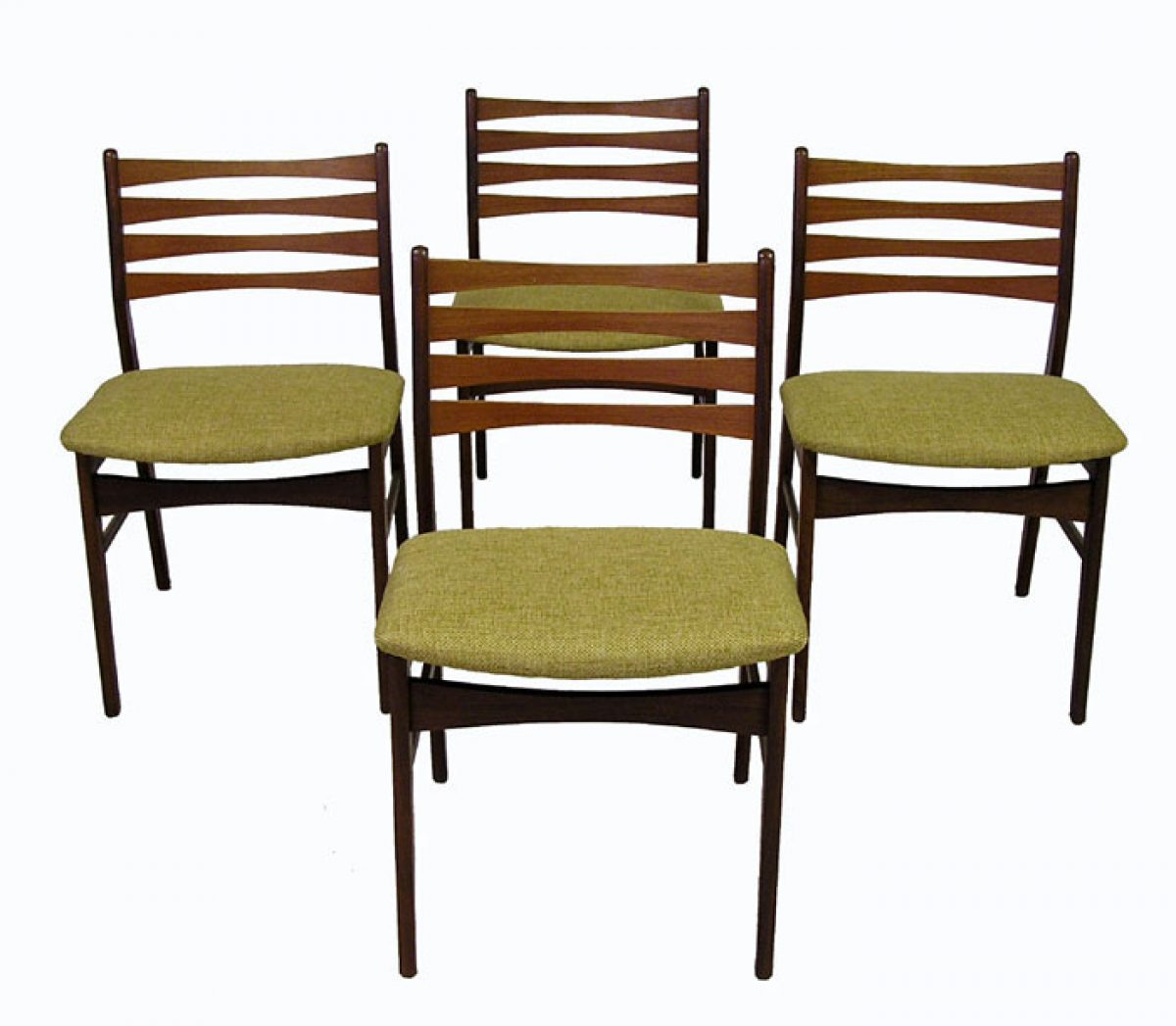 Danish Teak Dining Chairs 1960s Danish Teak Dining Chairs Set Of 4 Hoopers Modern