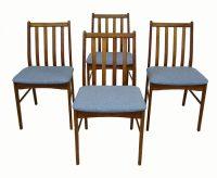 1960s Danish Teak Dining Chairs *Set Of 4*  Hoopers Modern