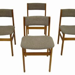 Teak Folding Chairs Canada Pet Chair Covers For Recliners Dining Set Of Four  Hoopers Modern