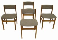 Teak Dining Chairs *Set of Four*  Hoopers Modern