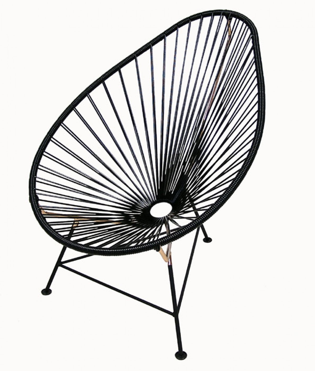 Acapulco Lounge Chair Acapulco Lounge Chairs Black And Copper Hoopers Modern