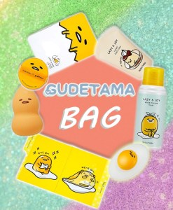 Gudetama Box text