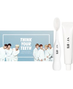 VT x BTS Think Your Teeth Jumbo Toothbrush white