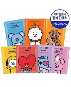 bt21 mediheal face point mask