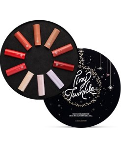 Etude House Tiny Twinkle Edition Dear My Blooming Lips Talk