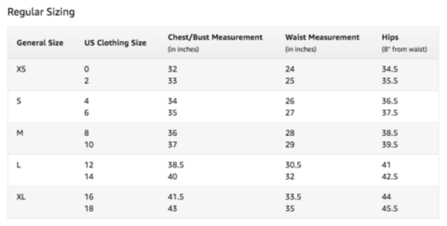 Tabela de Tamanhos dos Shorts SAVAGE BARBELL