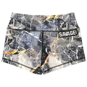 Booty Shorts Savage Barbell Gold Digger
