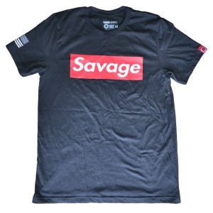 T-shirt Savage Barbell Supreme Heather Black
