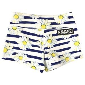 Booty Shorts Savage Barbell Daisy