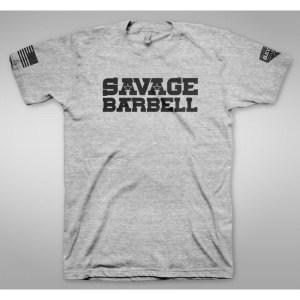 T-shirt Savage Barbell Horny Devil