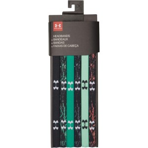 Under Armour 6-Pack Headbands Camo Green
