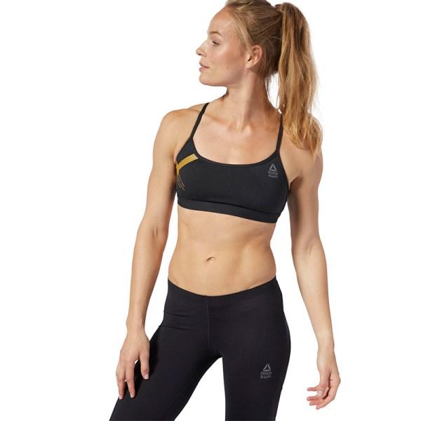 Reebok CrossFit Skinny Bra Graphic Black