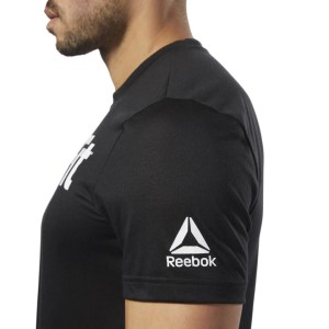 T-Shirt Reebok CrossFit Speedwick Black