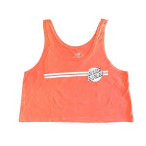 Savage Barbell Crop Top - Retro Savage - Creamsicle