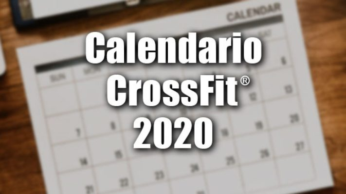 Temporada dos CrossFit Sanctionals 2020