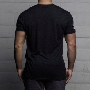 T-shirt The Barbell Cartel Classic Logo Charcoal