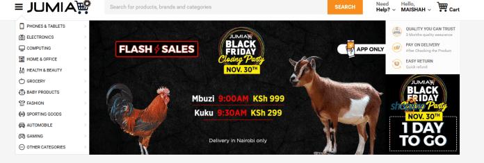 Online shopping websites in kenya 2