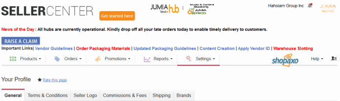 How to update your payment method on Jumia Kenya 1-min