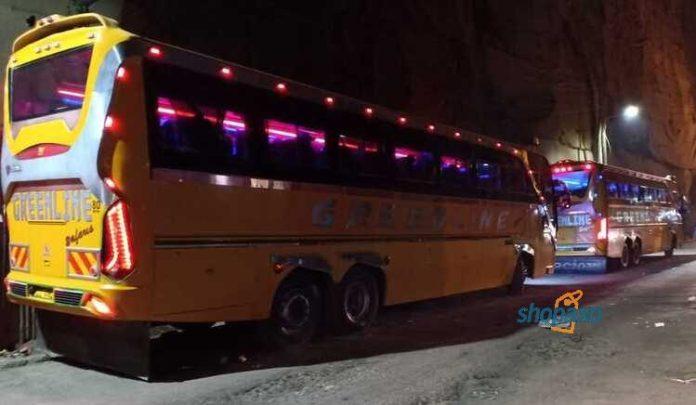 greenline bus online booking