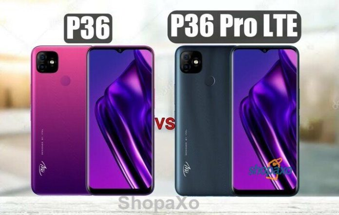 itel P36 pro and P36 price in Kenya and full specifications