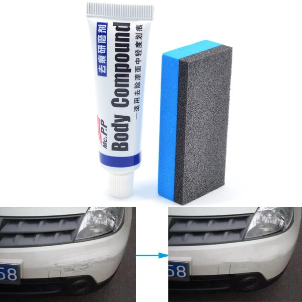 Car Wax Styling Car Body Grinding Compound MC308 Paste Set Scratch Paint Care Shampoo Auto Polishing Car Paste Polish Cleaning