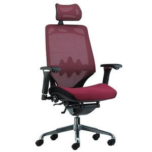 כסא מנהלים גבוה מפואר מבד רשת קוריאני מדגם לקסוס