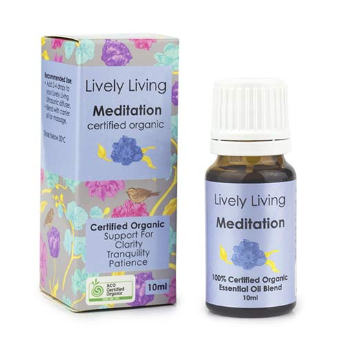 LIVELY LIVING ESSENTIAL OIL MEDITATION - IRONIC