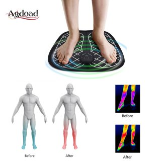 EMS Stimulator Muscle Foot Massage Wireless Vibrator Foot Tens Acupuncture Point Health Pain Relief Physiotherapy massageador