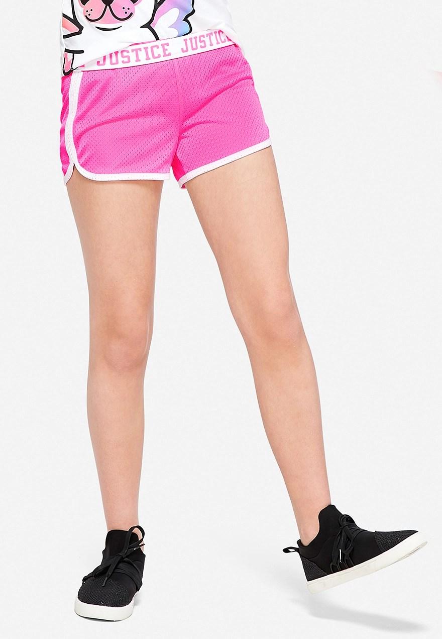 Foldover mesh shorts also tween girls  plus size clothing sizes justice rh shopjustice