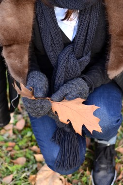 warm winter scarf and mittens ShopLaLune