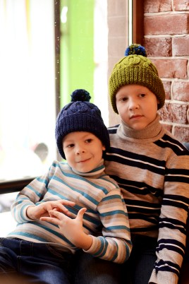 cozy ski knit hats by ShopLaLune