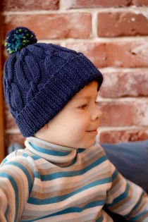 cozy knit hat for boy by ShopLaLune