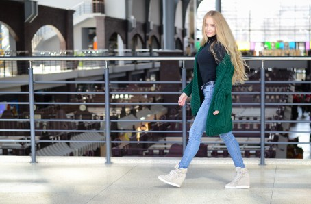street style cozy outfit